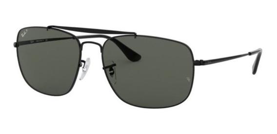 Oculos Sol Ray Ban The Colonel Rb3560 002/58 61mm Polarizada
