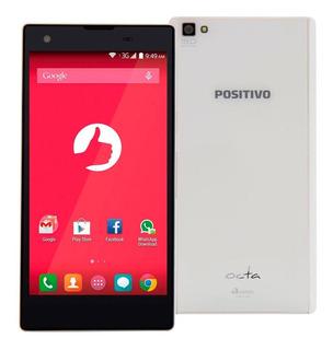 Smartphone Positivo Octa X800 Branco Com Dual Chip