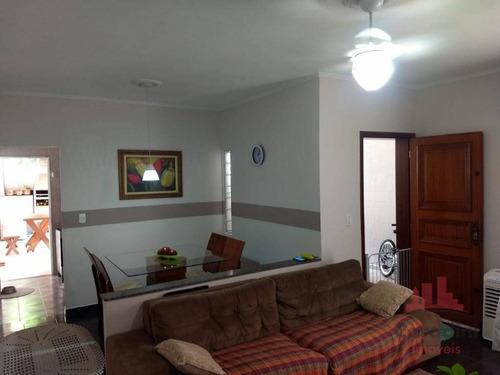 Imagem 1 de 21 de Casa Com 3 Dormitórios À Venda, 127 M² Por R$ 325.000,00 - Jardim Primavera - Americana/sp - Ca2586