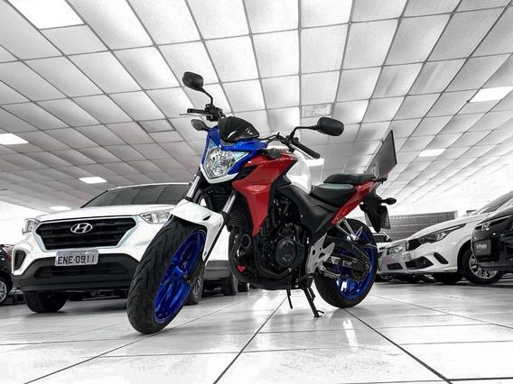 Honda Cb 500f Ano 2014 Financiamos Em 36 Troca Carro/moto