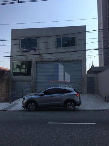 Salão Para Alugar, 997 M² Por R$ 22.000,00/mês - Vila Assis Brasil - Mauá/sp - Sl0083