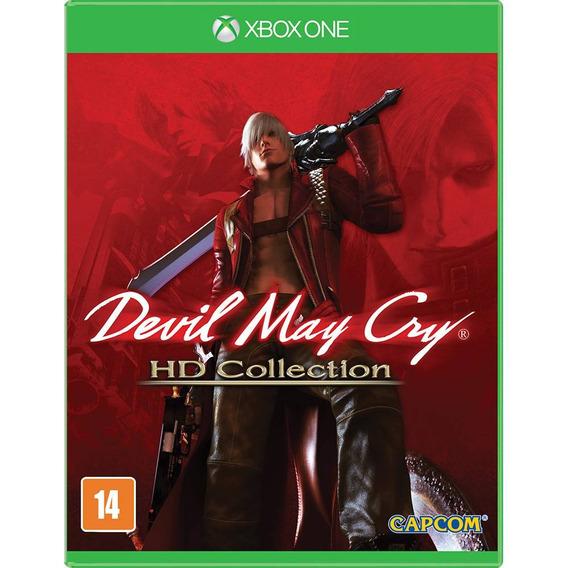 Devil May Cry Hd Collection Xbox One Original Lacrado Fisica