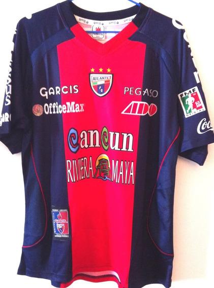 Camisa Atlante Usada Em Jogo Liga Mexicana Número 8