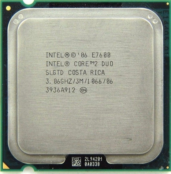 Proc. Intel Core 2 Duo E7500 2.93ghz 3mb 1066mhz Lga775