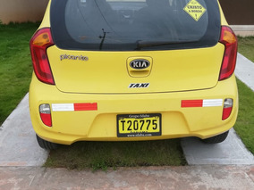 Kia Picanto, Color Amarillo Disponible Para Operar