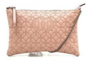 Bolsa Feminina Dumond Transversal Com Relevo 484941 Rosa