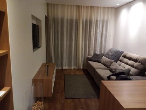 Imagem 1 de 26 de Apartamento Com 1 Dormitório Para Alugar, 50 M² Por R$ 4.500,00/mês - Melville Empresarial Ii - Barueri/sp - Ap4833