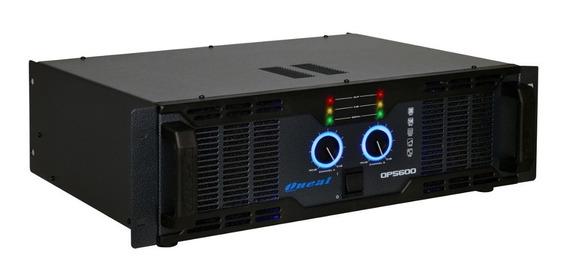 Amplificador Potencia Op 5600 1000 W Oneal 1 Ano Garantia
