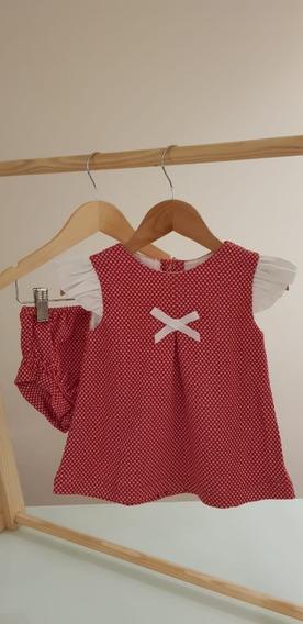 Vestido Claire - Vestido P/ Bebê Em 6 Cores Diferentes!