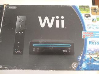 Wii Nintendo Como Nueva