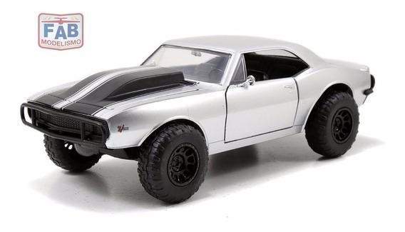Miniatura Chevy Camaro Ff Velozes E Furiosos 7 - 1/24 Jada