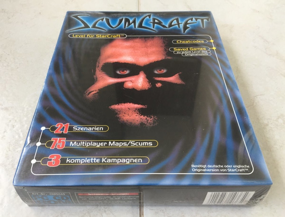 Scumcraft Level Para Starcraft Blizzard Big Box ( Lacrado )