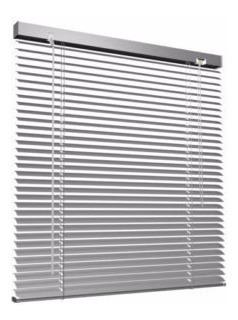 Cortina Veneciana De Aluminio Perforada 25mm, Ambiance