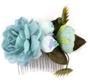 Flores Arranjo De Cabelos Pente Noiva Madrinha Dama De Honra