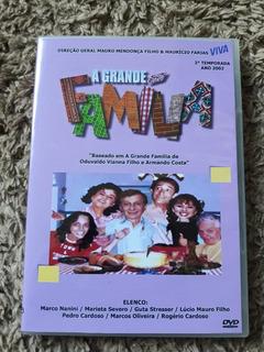 Dvd A Grande Familia - 2° Temporada Completa Viva - 6 Dvds
