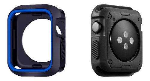 Case Capa Armadura App Smart Watch Silicone + Película E097