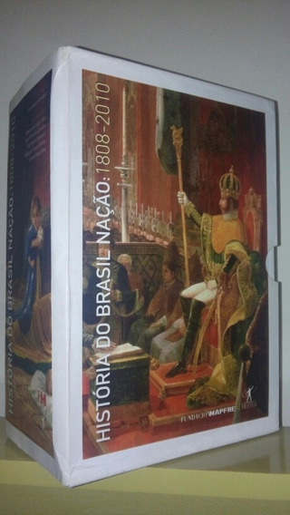 Box História Do Brasil Nação 1808-2010