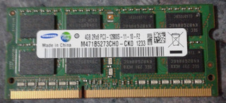 Memoria Samsung Original - Ddr3, 1600mhz, Sodimm
