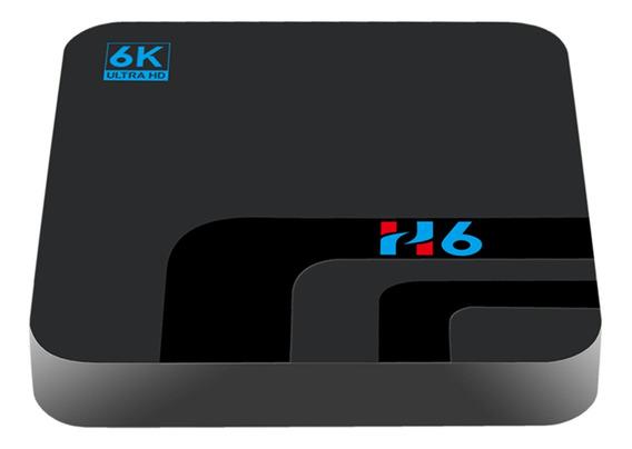 H6 Caixa De Tv Inteligente Android 9.0 Allwinner H6 Uhd 4k M