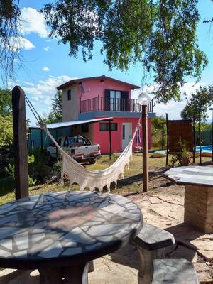 Casa Cabaña La Falda Sierras De Cordoba Alquiler Temporario
