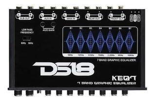 Ecualizador Ds18 Keq7 7 Bandas Crossover /aireysonido