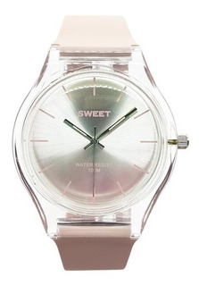Reloj Sweet Mujer Carmel Pink 100m Sumergible Agente Oficial