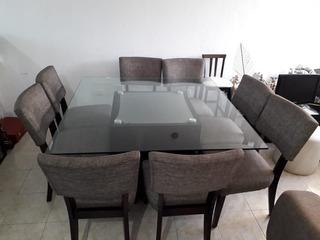 Mesa Para 8 Personas Con Sillas