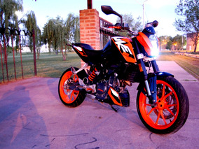 Ktm Duke 200 Impecable 8.500 Km (no Yamaha, No Honda, No Kaw