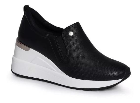 Tênis Feminino Plataforma E Anabela Sneakers 19-12306