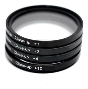 Kit Filtro 55mm Macro Close Up Sony Hx300v Hx400 Hx400v
