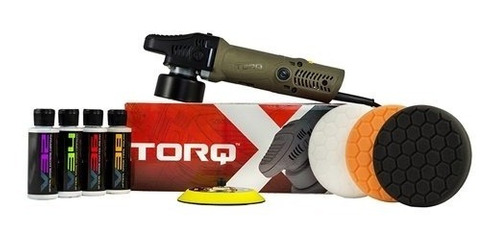Kit De Pulidor Orbital Aleatorio Torq Torqx (9 Artículos)