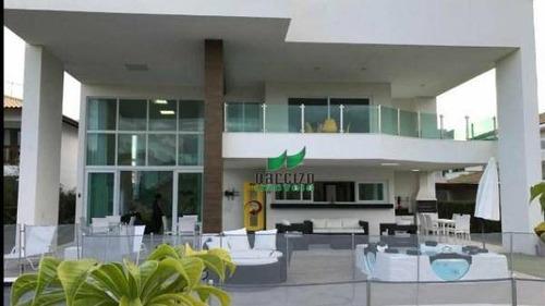 Casa Com 5 Dormitórios À Venda, 440 M² Por R$ 3.490.000,00 - Guarajuba - Camaçari/ba - Ca2421