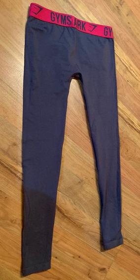 Padrísimos Leggings Gymshark Classic Bicolor Gris Rosa M Or