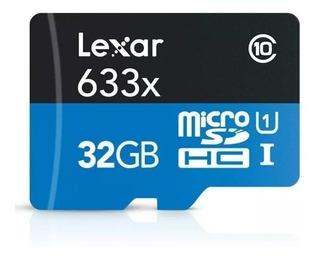 Memoria Tarjeta Micro Sd Lexar 32gb 633x 95 Mb/s 4k