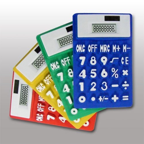 Calculadora Solar, Nueva En Varios Colores
