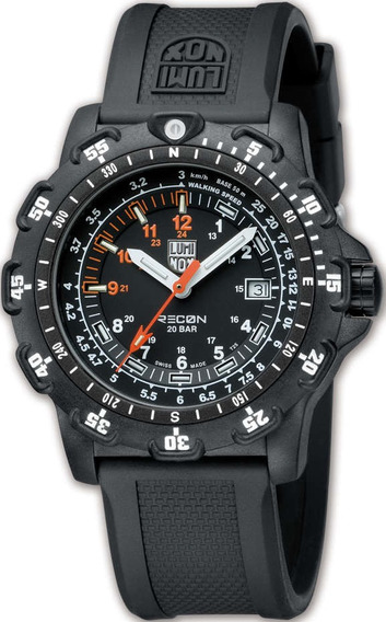 Relógio Masculino Luminox Recon Poitman 8821.km Black
