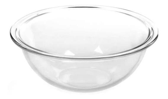 Bowl Marinex Plus 3 Litros Ensaladera Vidrio Templado Piu