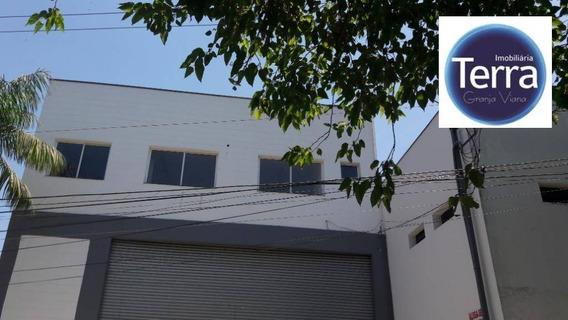 Galpão Para Alugar, 320 M² Por R$ 9.000/mês - Granja Viana - Granja Viana - Ga0194