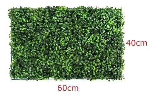 10 Pzs Follaje Artificial 40x60 Cms, Jardin Vertical, Follaje Para Muros