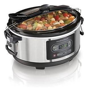 Hamilton Beach 33957 Cocina Programable Stay Or Go Slow Cook