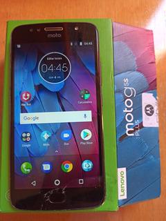 Celular Motorola Smartphone Moto G5s Plus 32g Vidro Trincado