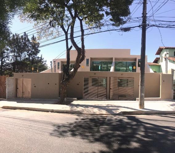 Linda Casa No Santa Amelia, 3 Quartos, Sendo 1 Suite Com Varanda, Sala Ampla E 3 Vagas. - 2561