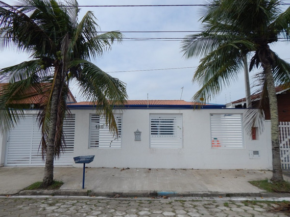 Casa Mobiliada No Bairro Flórida Em Peruíbe Para Venda