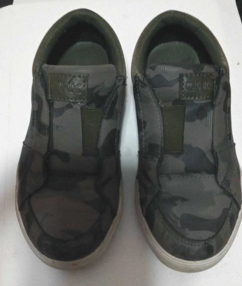 Zapatillas Cheecky Camufladas Usadas Talle 30