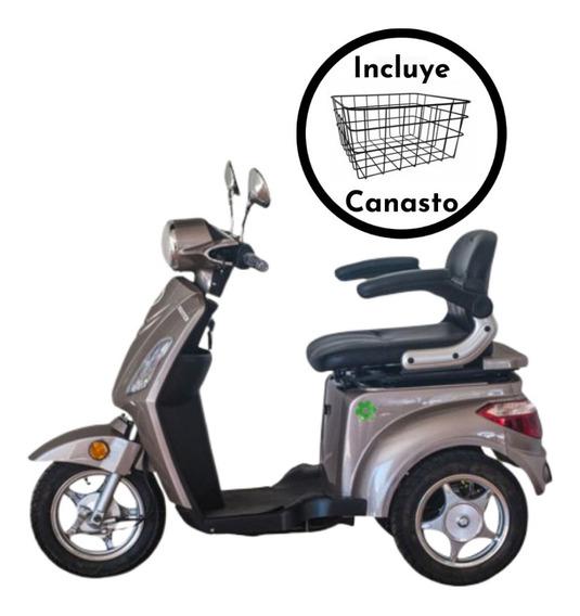 Triciclo Eléctrico Master / 25 Km/h / Incluye Canasto