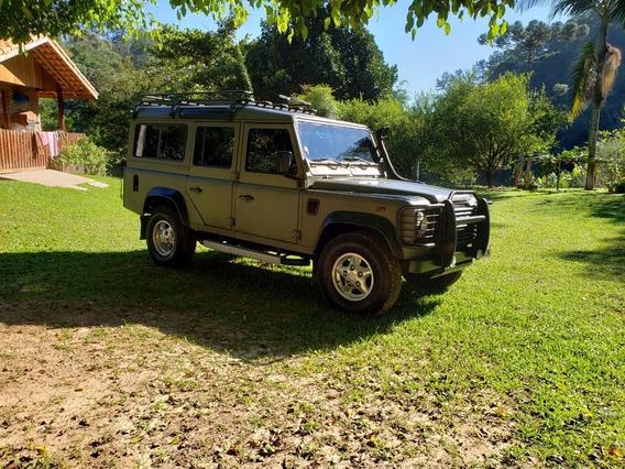 Land Rover Defender 110 4x4 Sw5l 2000 Verde Militar A Venda