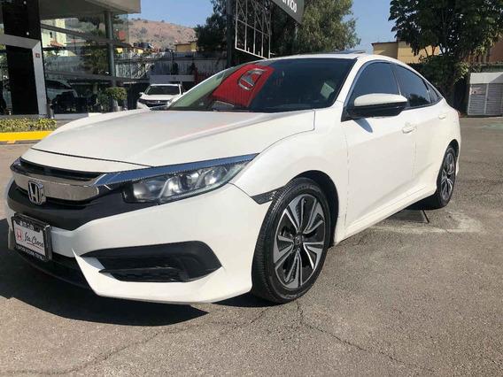 Honda Civic 2018 4p Turbo Plus L4/1.5/t Aut