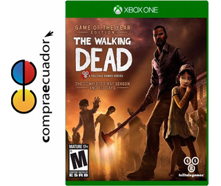 The Walking Dead: Complete Season 1 Xbox One Sellados Nuevos