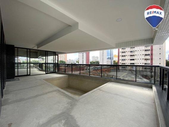 Apartamento Com 4 Suítes, Lumini, 338 M² - Umarizal - Belém/pa - Ap0591