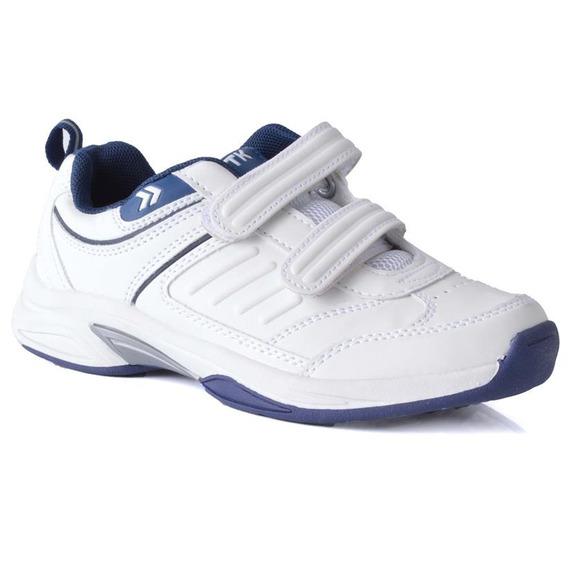 Zapatilla Atomik Footwear - 1986-at-0048-k-blanco Y Azul